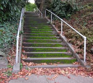Galer Stairway West