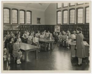 QA Library kids