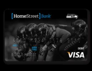 HomeStreet Seahawks debit