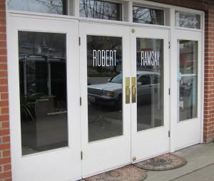 Robert Ramsay storefront