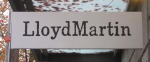 LloydMartin sign