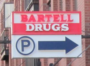 Bartell sign