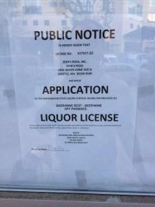 Zeeks license application