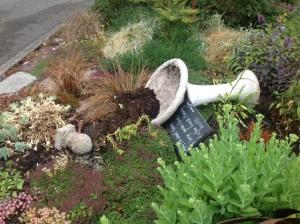 LFL garden vandalism