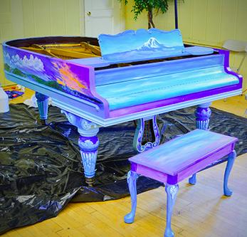 Seattle Center piano