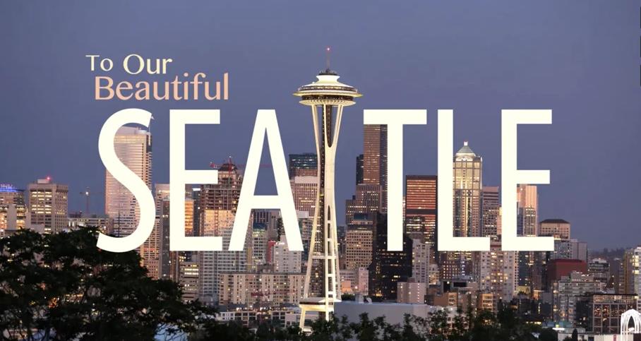 Beautiful Seattle video
