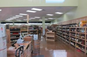TJs liquor section