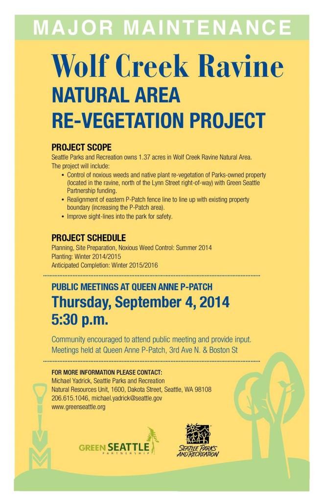 Wolf Creek Ravine Project