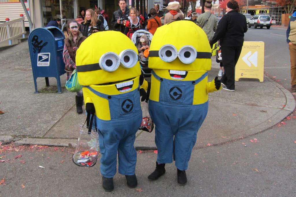 Halloween Minions 2013