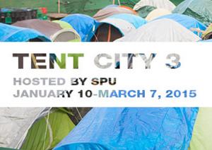SPU Tent City