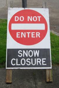 Snow Closure