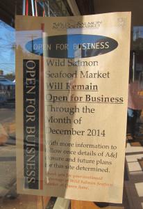 Wild Salmon open