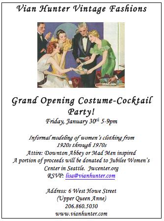 Vian Hunter Opening Party
