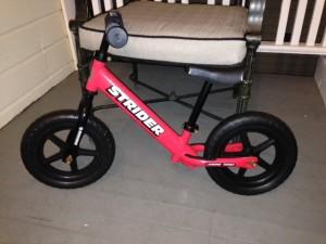 found strider bike