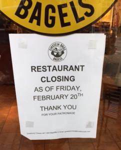 Einstein closing Friday