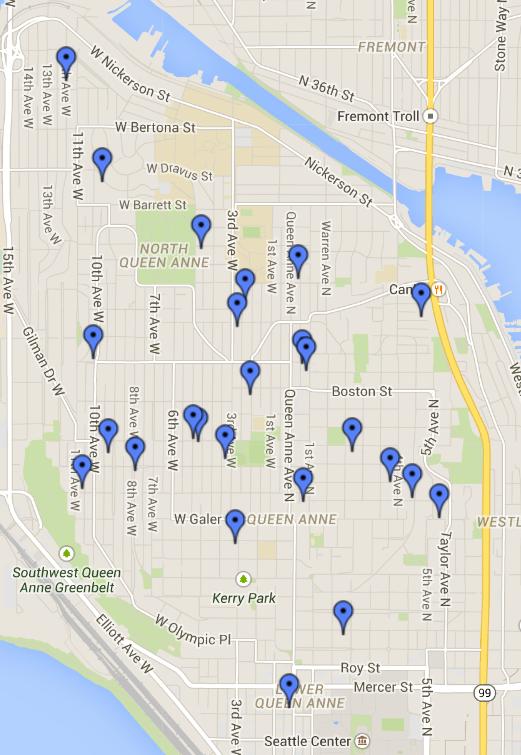 Queen Anne LFL Map March 2015
