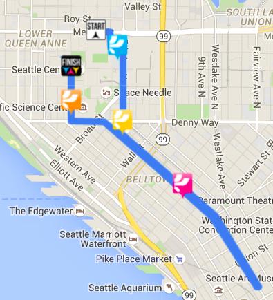 Color Run Route