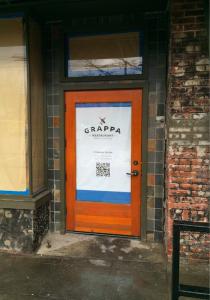 Grappa door