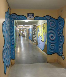 Henry QACC hallway